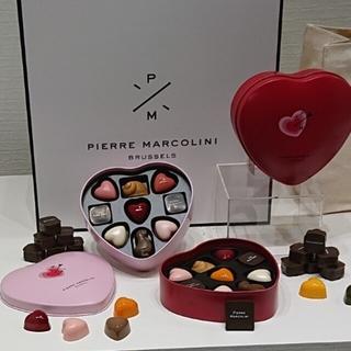 ピエールマルコリーニ/バレンタインセレクション9個入×2缶(菓子/デザート)