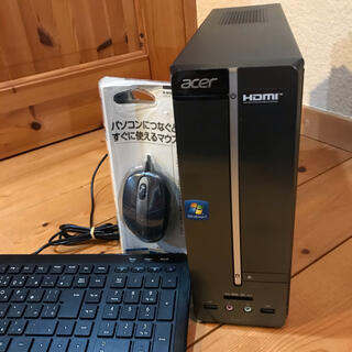 エイサー(Acer)のAcer AspireXC600 Win10&Office2019パソコン(デスクトップ型PC)