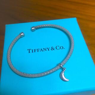 ティファニー(Tiffany & Co.)の特レア美品★ティファニー 月 バングル ブレスレット (ブレスレット/バングル)
