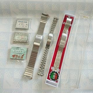 SEIKO - セイコー 純正ブレス 金属ベルト 腕時計バンド バネ棒 未使用 まとめ売り