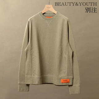 BEAUTY&YOUTH UNITED ARROWS - BEAUTY&YOUTH 別注 UNIVERSAL OVERALL スウェット