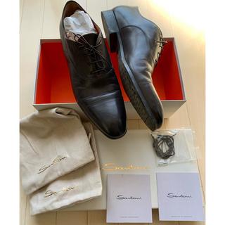 サントーニ(Santoni)の値下げ!! ほぼ新品 Santoni サントーニ シューズ 靴 9 28cm(ドレス/ビジネス)