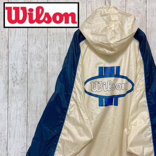 ウィルソン(wilson)のwilson ウィルソン ナイロンジャケット デカロゴ(ナイロンジャケット)