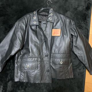 ハーレーダビッドソン(Harley Davidson)のリメイク レザージャケット アナーキーマーク(レザージャケット)