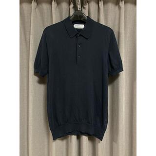 トゥモローランド(TOMORROWLAND)のトゥモローランド コットンシルク ニットポロシャツ メンズ / ジョンスメドレー(ポロシャツ)