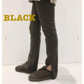 アパルトモンドゥーズィエムクラス(L'Appartement DEUXIEME CLASSE)のwool zip leggings ♥︎ black(レギンス/スパッツ)