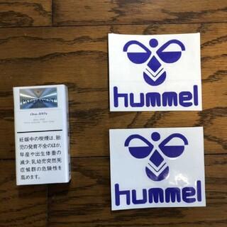 ヒュンメル(hummel)のヒュンメル hummel 切り文字ステッカー カッティングステッカー カスタム(その他)