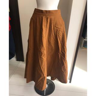 バンヤードストーム(BARNYARDSTORM)のバンヤードストーム ブラウン スカート  サイズ0   (ひざ丈スカート)