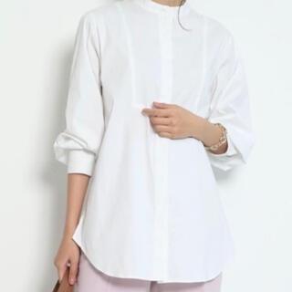 ジャスグリッティー(JUSGLITTY)のバンドカラーロングテールシャツ(シャツ)