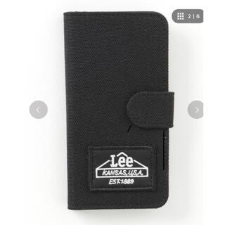 リー(Lee)のiPhoneX 携帯ケース 新品未使用 ブラック Lee LEE(iPhoneケース)