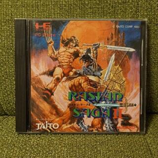 タイトー(TAITO)のPCE  ラスタンサーガ2(家庭用ゲームソフト)