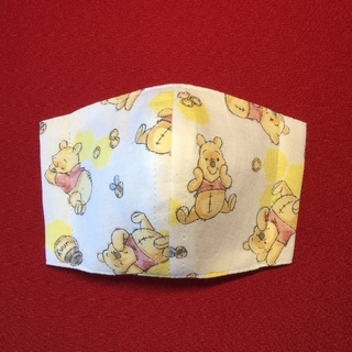 くまのプーさん - くまのプーさん ハンドメイド 子供用 インナーマスク