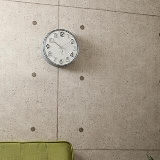 イデアインターナショナル(I.D.E.A international)のBRUNOラウンドトーンウォールクロック 掛け時計(掛時計/柱時計)