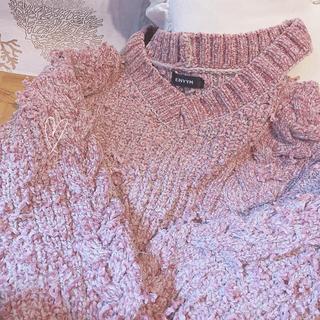 アンビー(ENVYM)のアンビー 超美品♡肩空きオーバーサイズニット(ニット/セーター)