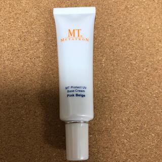 エムティー(mt)のMTメタトロン MT プロテクトUVベース・クリーム ピンクベージュ(化粧下地)