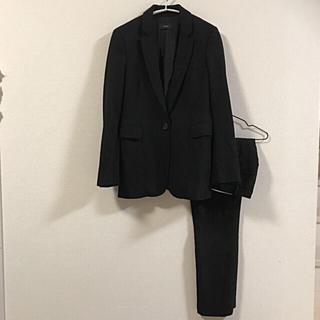 ジョゼフ(JOSEPH)の上質素材♡カシミヤ混 美シルエット 定番パンツスーツ 黒色 訳ありサイズ(スーツ)