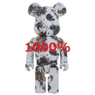 BE@RBRICK Jackson Pollock Studio 1000%(その他)