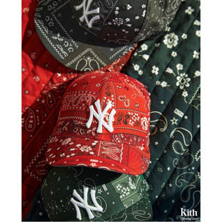 ニューエラー(NEW ERA)のKITH FOR NEW ERA YANKEES CAP BANDANA(キャップ)