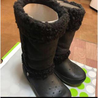 crocs - クロックス kids nadia ブラック