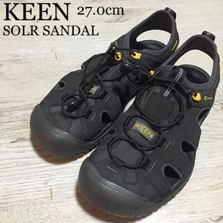 キーン(KEEN)のKEEN SOLR SANDAL ソーラーサンダル 27.0cm アウトドア(サンダル)