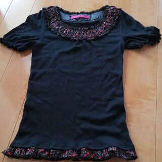ドーリーガールバイアナスイ(DOLLY GIRL BY ANNA SUI)のドーリーガール カットソー Tシャツ(Tシャツ(半袖/袖なし))