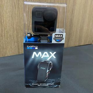 ゴープロ(GoPro)の【美品】gopro max ゴープロ マックス ケース付き(ビデオカメラ)