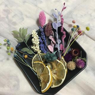 〈D-3〉Deluxe flowers box(ドライフラワー)