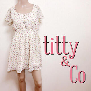 titty&co - もて服♪ティティアンドコー スウィートフレアワンピース♡スナイデル ダズリン