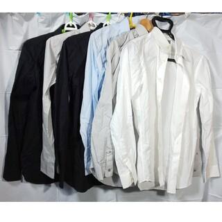 ユニクロ(UNIQLO)の未使用 UNIQLO 全4点 ストレッチフィットスリムシャツ(シャツ)