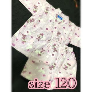 ディズニー(Disney)のディズニー ミニー 甚平 size 120(甚平/浴衣)