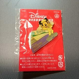 ディズニー(Disney)のディズニーリゾートライン非売品他ピンバッチ2個(キャラクターグッズ)