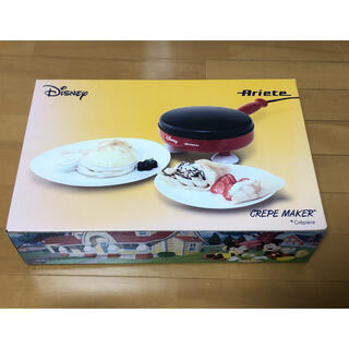 デロンギ(DeLonghi)のディズニークレープメーカー(デロンギ、ジャパン)(調理道具/製菓道具)
