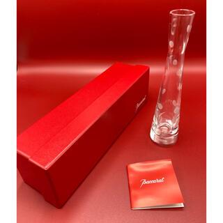 バカラ(Baccarat)の◇ Baccarat(バカラ) ドット柄 水玉 フラワーベース 一輪挿し 花瓶(花瓶)
