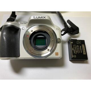 Panasonic - LUMIX DMC-G5 シェルホワイト ボディ