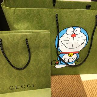 グッチ(Gucci)のGUCCI ドラえもん ステッカー ショッパー(キャラクターグッズ)