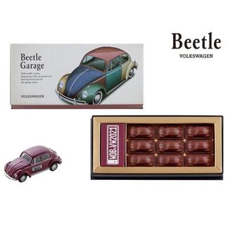 フォルクスワーゲン(Volkswagen)のモロゾフ ビートルガレージ チョコレート ミニカー(菓子/デザート)