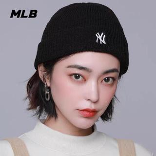 NEW ERA - NEW ERA MLB  韓国 korea ニット帽 NY ネイビー 男女兼用