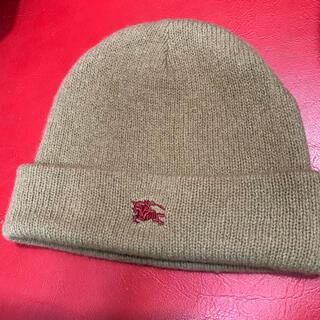 バーバリー(BURBERRY)のバーバリーニット帽(ニット帽/ビーニー)