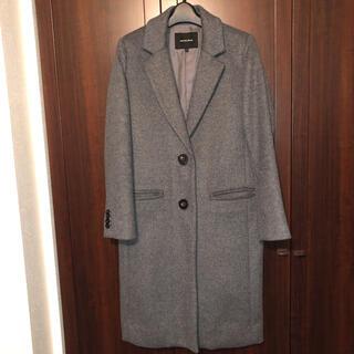 ローズバッド(ROSE BUD)のローズバッド ロングコート グレー 灰色(ロングコート)