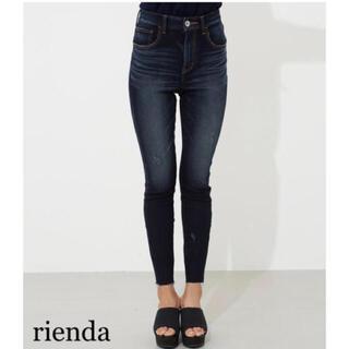 rienda - rienda Liberty Denim J/Wアンクルパギンス2