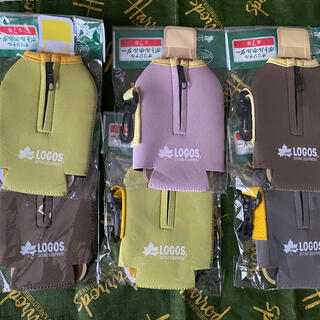 ロゴス(LOGOS)の新品 ☆LOGOSのペットボトルカバー☆ 6個セット まとめ売り(収納/キッチン雑貨)