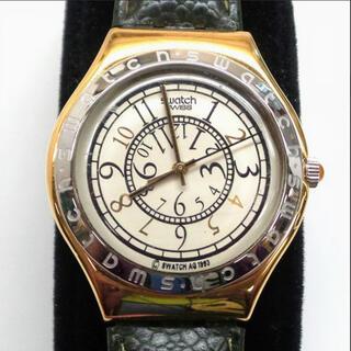 スウォッチ(swatch)の【美品】スウォッチ1994アイロニーリバースYGG100メンズウォッチ(腕時計(アナログ))