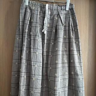 ツムグ(tumugu)のtumugu バルーンスカート 新品未使用タグ付き(ロングスカート)