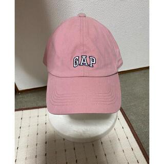 ギャップ(GAP)の新品未使用GAP 野球帽子 キャップ、薄ピンク フリーサイズ男女兼用(キャップ)