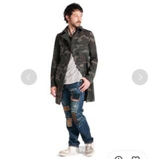 グラム(glamb)の未使用 glamb タグ付き 42900円 Keats coat(ライダースジャケット)