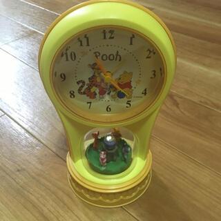 クマノプーサン(くまのプーさん)のクマのプーさん 置き時計(置時計)