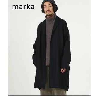マーカウェア(MARKAWEAR)の未使用 marka SHIRT COAT-wool soft serge-(チェスターコート)