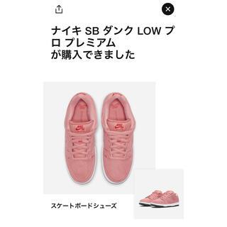 ナイキ(NIKE)のNIKE SB DUNK LOW PINK PIG 27(スニーカー)