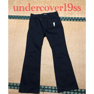 UNDERCOVER - アンダーカバー19ssブーツカットパンツ