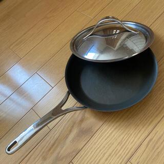 マイヤー(MEYER)のANOLON  NOUVELLE COPPER アナロン フライパン(鍋/フライパン)